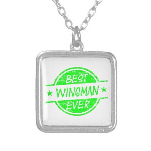 Best Wingman Ever Green Jewelry