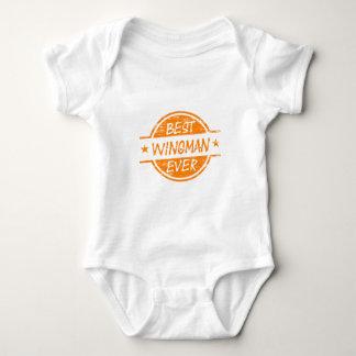 Best Wingman Ever Orange Baby Bodysuit