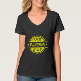 Best Wingman Ever Yellow T-Shirt