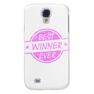 Best Winner Ever Pink Galaxy S4 Cover