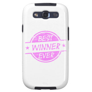 Best Winner Ever Pink Galaxy S3 Covers
