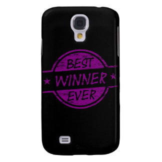 Best Winner Ever Purple Samsung Galaxy S4 Cover