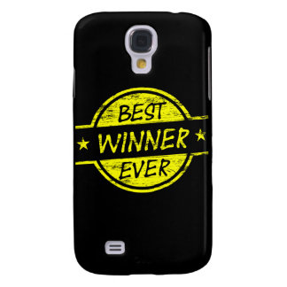 Best Winner Ever Yellow Samsung Galaxy S4 Covers