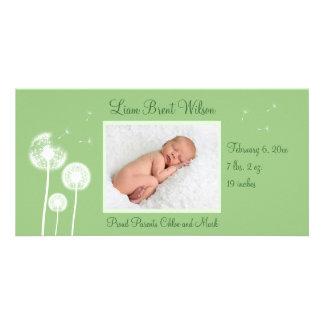 Best Wishes !!! Birth Announcement 2 (green)