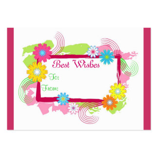 Best Wishes - Card Business Cards