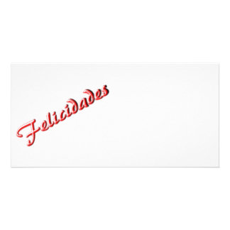 Best Wishes card Picture Card