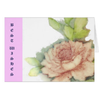 Best Wishes-Customize Card