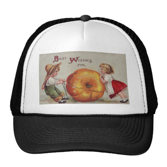 Best Wishes for a Good Thanksgiving Trucker Hat