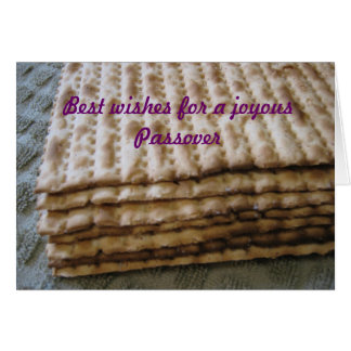 Best wishes for a joyous Passover Greeting Card