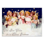 Best Wishes for a Merry Christmas Greeting Card