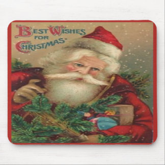 Best Wishes For Christmas Mouse Pad