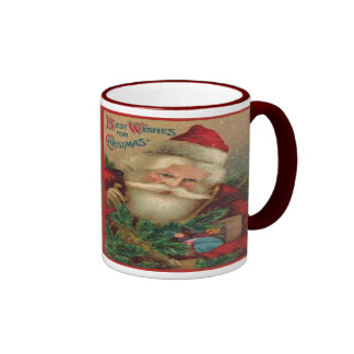 Best Wishes For Christmas Mugs