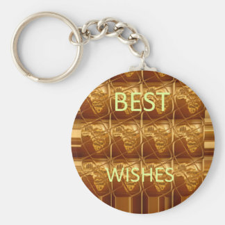 Best Wishes From Lovely Africa African Culture art Keychain