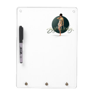 Best Wishes Olympia Dry Erase Board