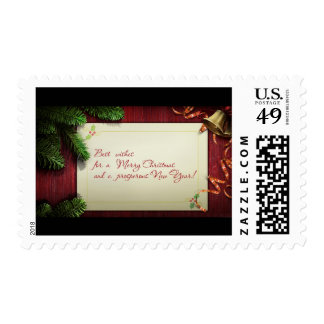 Best Wishes Postage Stamps/Christmas and New Years