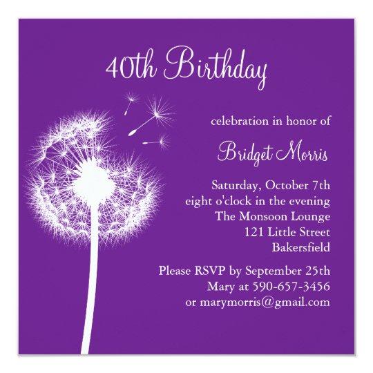 Best Wishes! (purple) Card