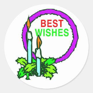 Best Wishes - Sticker
