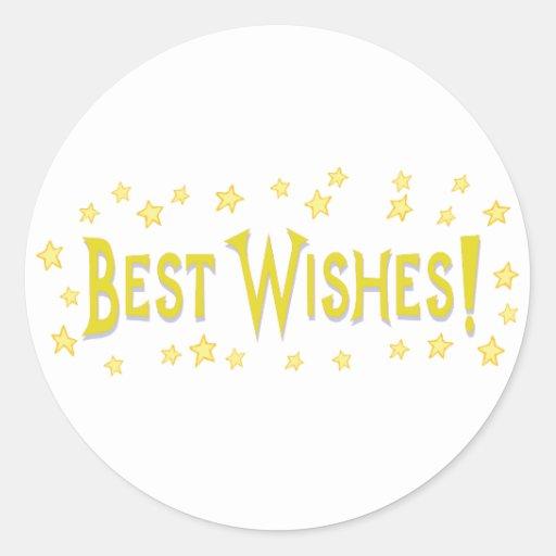 Best Wishes Stickers