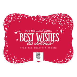 Best Wishes This Christmas Photo Card
