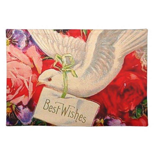 Best Wishes Victorian Dove Wedding Shower Decor Cloth  : bestwishesvictoriandoveweddingshowerdecorclothplacemat r3c7ac24c745a40d98aef136619848b792cfku8byvr512 from www.zazzle.com size 512 x 512 jpeg 52kB