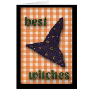 Best Witches (Halloween) Card