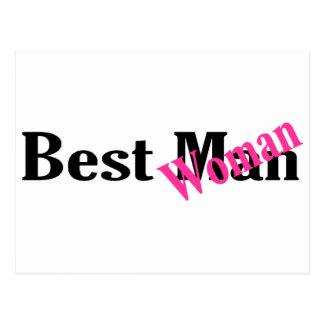 Best Woman Postcard