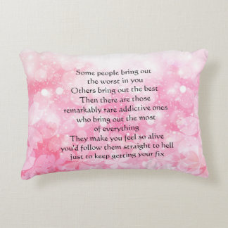 "Best, Worst & Everything Accent Pillow 16"" x 12"""