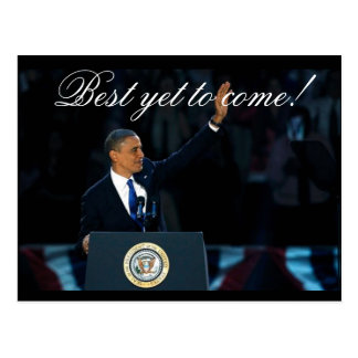 Best Yet to Come OBAMA Historical Re-election Postcard