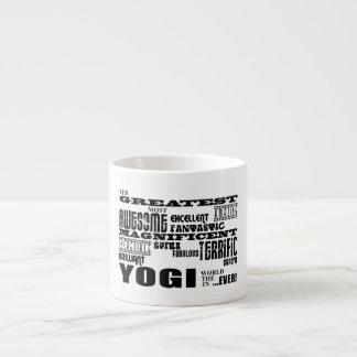 Best Yogis Yoga Birthdays : Greatest Yogi Espresso Cup