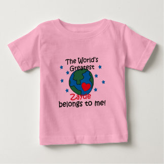 Best Zayde Belongs to me Baby T-Shirt