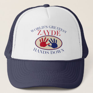 Best Zayde Hands Down Trucker Hat