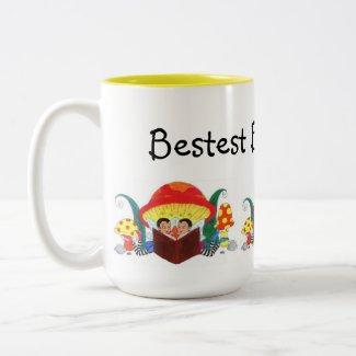 Bestest Book Buddies Ever! mug
