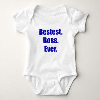 Bestest Boss Ever Baby Bodysuit