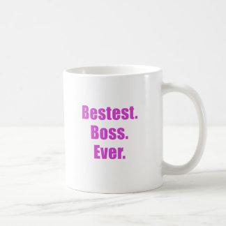 Bestest Boss nunca Taza Clásica