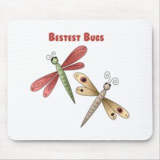 Bestest Bugs (dragonflies) Mouse Mats