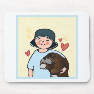 bestest_Fwend2 Mouse Pad