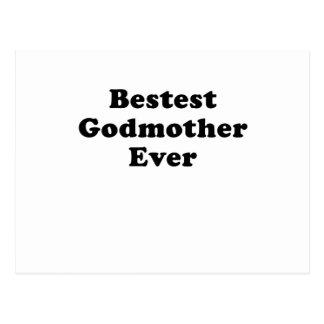 Bestest Godmother Ever Postcard