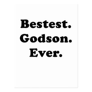 Bestest Godson Ever Postcard