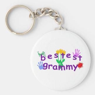 Bestest Grammy Key Chain