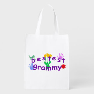 Bestest Grammy Reusable Grocery Bag
