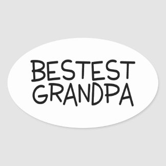 Bestest Grandpa Sticker