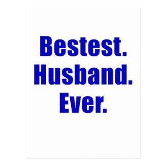 Bestest Husband Ever Postcard