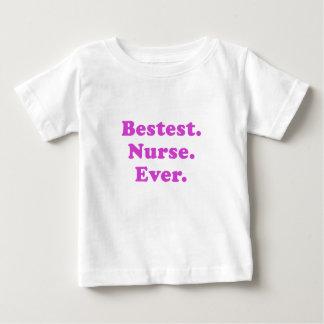 Bestest Nurse Ever Baby T-Shirt