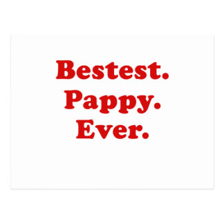 Bestest Pappy Ever Postcard