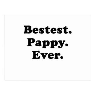 Bestest Pappy nunca Tarjetas Postales