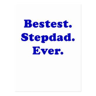 Bestest Stepdad Ever Postcard