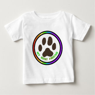 Bestfriend Outlined Baby T-Shirt