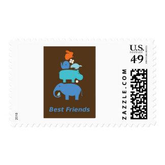 BestFriends Postage Stamps