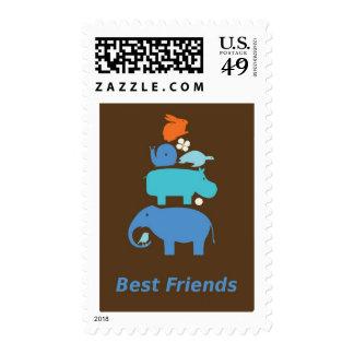 BestFriends Postage Stamp