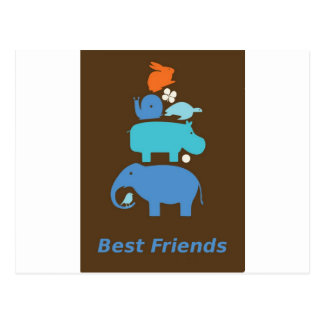 BestFriends Postcard